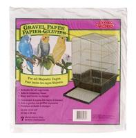 Living World Gravel Paper 8-pack40 cm x 39 cm, Large