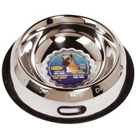 Dogit Stainless Steel Non Spill Dish, Super Large, 2.8L (96 fl oz)