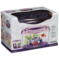 Marina Plastic Betta Kit Purple, 1.89L (0.5 U.S. gal)