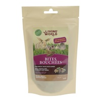 Living World  Small Animal Bites with Quinoa - 50g
