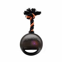 Zeus Bomber Bomb Black Tug Ball with Flashing LED - 12.7 cm (5 in)