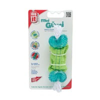 Dogit Design Gumi Dental Dog Toy, Spin & Clean, Mini
