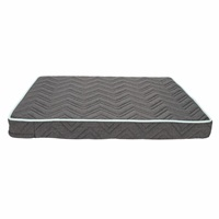 "Dogit Dreamwell Interweave Orthopedic Bed - Grey - 81 x 61 x 8 cm (32"" x 24"" x 3"")"