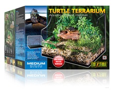 Exo Terra Turtle Terrarium Medium / Aquatic Habitat, 24 x18 x 12