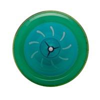 Habitrail OVO Wheel  Lime Green, Dark Aqua Blue
