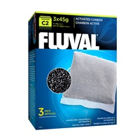 Fluval Carbon for C2 Power Filters, 3 Pack