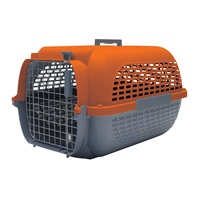 Dogit Voyageur Dog Carrier - Orange/Charcoal - Small - 48.3 cm L x 32.6 cm W x 28 cm H (19 in x 12.8 in x 11 in)