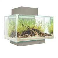 Fluval Edge 6 gal Aquarium Set - Pewter