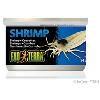 Exo Terra Canned Shrimps - 34 g (1.2 oz)