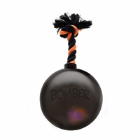 Zeus Bomber Black Bomb with Flashing LED - 17 cm (6.7 in)