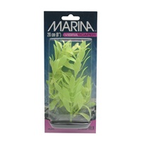 Marina Vibrascaper Plastic Plant, Hygrophilia Green-Dayglo, 20 cm (8 in)