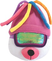 """Dogit Style Winter 2010 Dog Clothing & Toy Collection,   Après-Ski  Bear with Pink Tuque  - 25.5 cm (10"""")"""