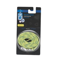 "Catit Style Nylon Cat Leash, Jungle Stripes. Size: 8mm (5/16"") x 1.2m (4ft)."