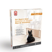 "Dogit Pet Safety Gate - Extra Wide - 122 cm - 203 cm W x 45.5 cm H (48"" - 80"" W x 18"" H)"