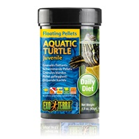 Exo Terra Aquatic Turtle Juvenile Floating Pellets - 1.5oz, 43g