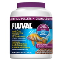 Fluval Cichlid Medium Sinking Pellets, 150 g (5.29 oz)