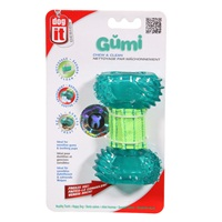 Dogit Design Gumi Dental Dog Toy-Chew & Clean, Small