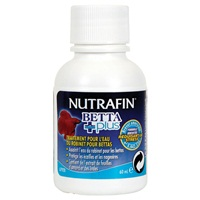 Nutrafin Betta Plus -Tap Water Conditioner for Bettas, 60 mL (2 fl oz)