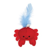 Catit Play Pirates Catnip Toys - Plush Crab