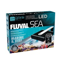 "Fluval Sea Nano Marine & Reef LED Lamp - 14 W - 14 cm x 15.5 cm (5.5"" x 6"" in)"