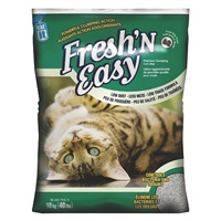 Catit Fresh'N Easy Premium Clumping Cat Litter, Pine Scent, Bag (18 kg / 40 lbs)