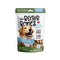 Zeus Better Bones - Milk Flavor - Chicken-Wrapped Twists - 10 pack