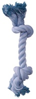Dogit Dog Knotted Rope Toy, Blue Rope Bone, Small