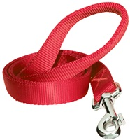 Dogit Single Ply Nylon Training Dog Leash - Red - XLarge (1.8 m/6 ft)