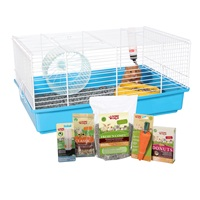 "Living World Hamster Starter Kit - 46 cm L x 29 cm W x 23 cm H (18"" x 11.4"" x 9"")"