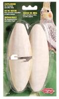 "Living World Cuttlebone with Holder Large - 15 - 18 cm (6"" - 7"") Twinpack"