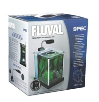 Fluval Spec Desktop Glass Aquarium - 7.6 L (2 US gal)