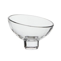 Catit Glass Diner Sculpted Glass Dish, 1 x 200 mL (1 x 6.7 fl oz)