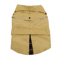 Dogit Fall/Winter 2011 Dog Clothing Collection - Trench Coat, Beige, X-Large