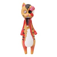 Dogit Zombie Fever, Zombie Cat, Vinyl Dog Toy