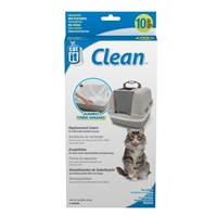 Catit Liners for Jumbo Cat Pan - 10 pack - Unscented