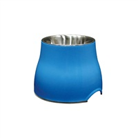 Dogit Elevated Dog Dish-Blue, Small (300ml/10.1 fl oz)