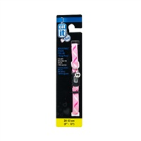 "Catit Style Adjustable Nylon Cat Collar, Ribbon. Size:  9.5mm (3/8"") x 20cm-33cm (8-13"")"