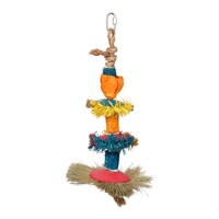 HARI Rustic Treasures Bird Toy Three Delights - Medium