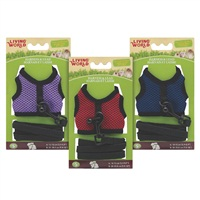 Living World Small Harness and Lead Set - Assorted Colors - Small