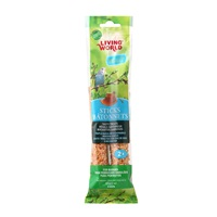 Living World Budgie Sticks, Honey Flavor, 60 g (2 oz),2-pack
