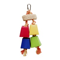 Living World Festive Favors - Rope - Wood & Paper Box Toy - 28 cm