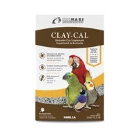 HARI Clay-Cal Bentonite Clay Supplement for Birds - 575 g (1.27 lb)