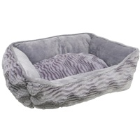 Catit Style Cat Rectangular Reversible Cuddle Bed.