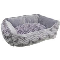 Catit Style Cat Rectangular Reversible Cuddle Bed.