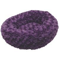 "Dogit Style Dog Donut Bed-Rosebud, Purple, Xsmall. 40cm dia. x 12.7cm (16"" dia x 5"")."