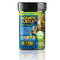 Exo Terra Aquatic Turtle Hatchling Floating Pellets - 0.8oz, 25g