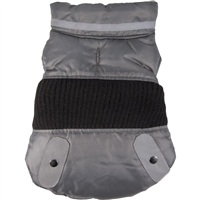 Dogit Style Fall/Winter 2011 Small Dog Clothing Collection - Sport Utility Vest, Gray, Medium
