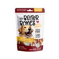 Zeus Better Bones - BBQ Chicken Flavor - Chicken-Wrapped Twists - 10 pack