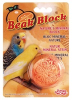Living World Mineral Block for Parakeets Orange