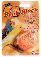 Living World Mineral Block for Parakeets Orange